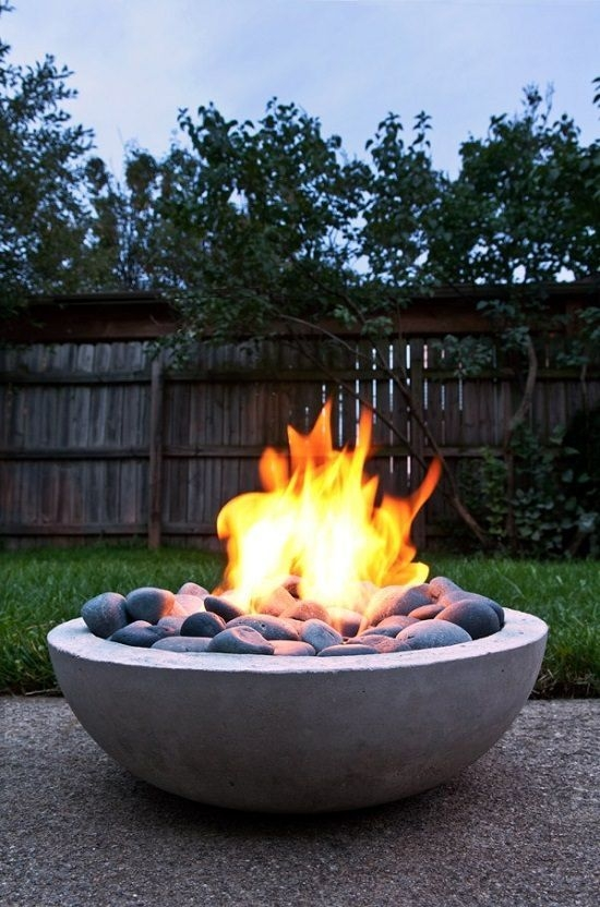 DIY Tabletop Fire Bowl To Be Best Inspire 23