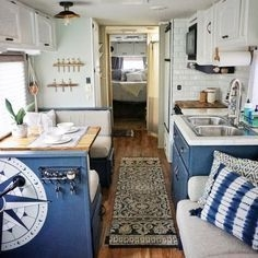 Easy Remodeling RV Decoration You Can Try 46