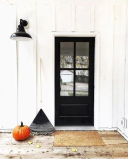 Farmhouse Door Design For Decorating Your House 03