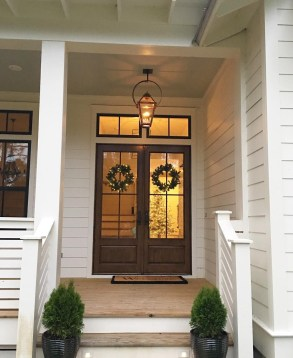 Farmhouse Door Design For Decorating Your House 09