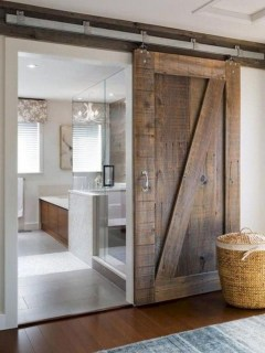 Farmhouse Door Design For Decorating Your House 10