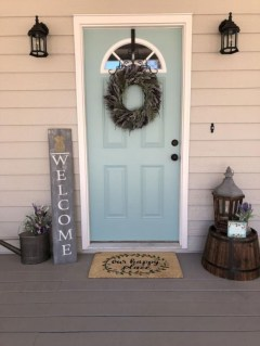 Farmhouse Door Design For Decorating Your House 13