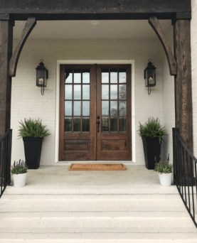 Farmhouse Door Design For Decorating Your House 24