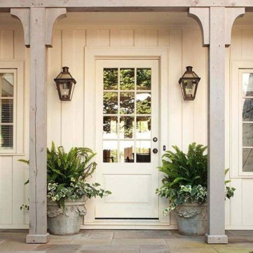 Farmhouse Door Design For Decorating Your House 28