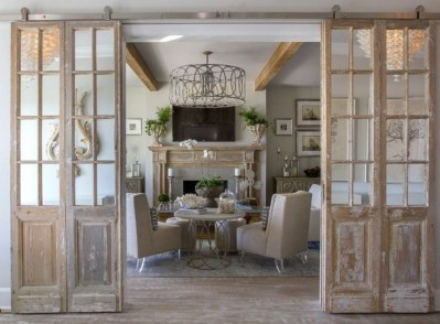 Farmhouse Door Design For Decorating Your House 37
