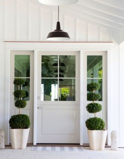 Farmhouse Door Design For Decorating Your House 41