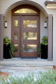 Farmhouse Door Design For Decorating Your House 42