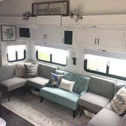 Gorgeous Farmhouse Decoration For RV Makeover 02
