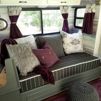 Gorgeous Farmhouse Decoration For RV Makeover 11