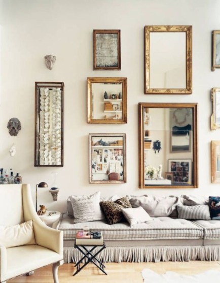 How To Create Wall Gallery In Above The Sofa 05