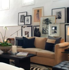 How To Create Wall Gallery In Above The Sofa 13