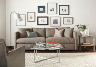 How To Create Wall Gallery In Above The Sofa 31