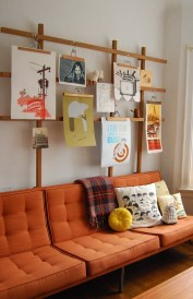 How To Create Wall Gallery In Above The Sofa 35
