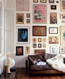 How To Create Wall Gallery In Above The Sofa 36