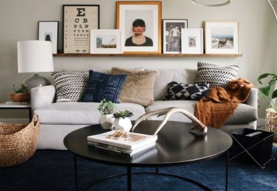 How To Create Wall Gallery In Above The Sofa 44