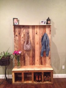 How To Make DIY Pallet For Storage Ideas 39