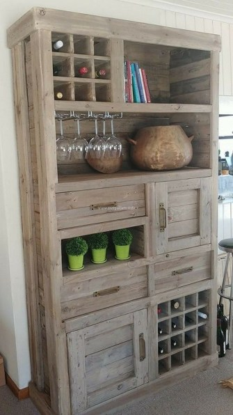 How To Make DIY Pallet For Storage Ideas 54