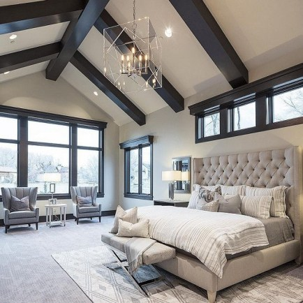 Love The Neutral Color For Master Bedroom Idea 20
