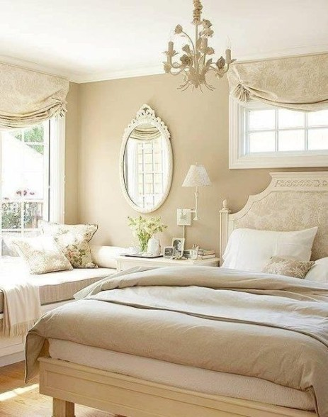 Love The Neutral Color For Master Bedroom Idea 29