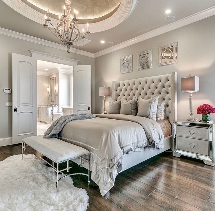Love The Neutral Color For Master Bedroom Idea 39