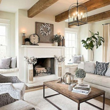 Modern Farmhouse Decoration For Your Living Room 09