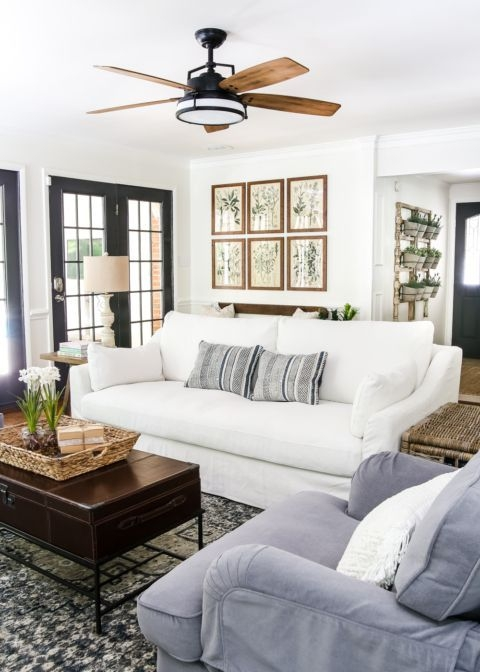 Modern Farmhouse Decoration For Your Living Room 10