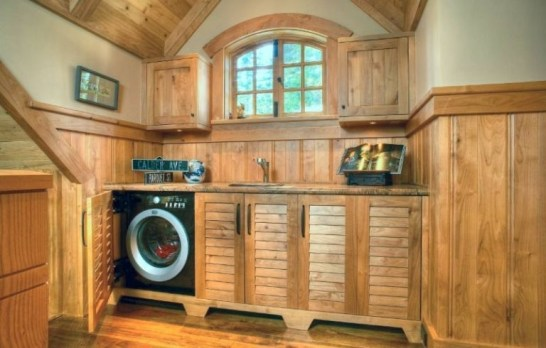 Perfect Laundry Room Decor In Your Tiny House 05