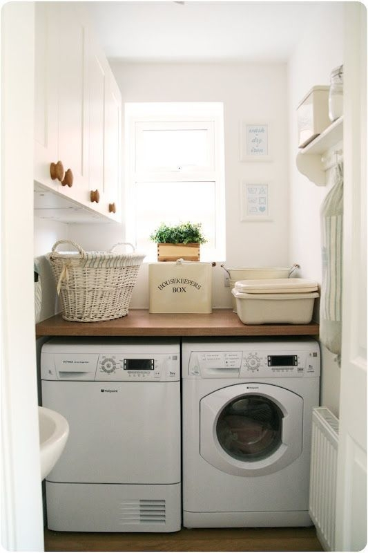 Perfect Laundry Room Decor In Your Tiny House 18