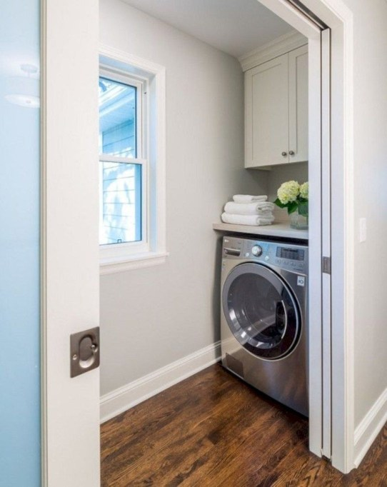 Perfect Laundry Room Decor In Your Tiny House 21