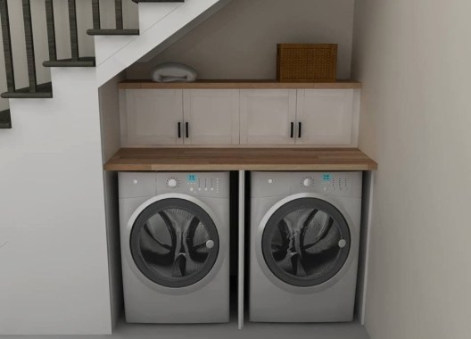 Perfect Laundry Room Decor In Your Tiny House 31
