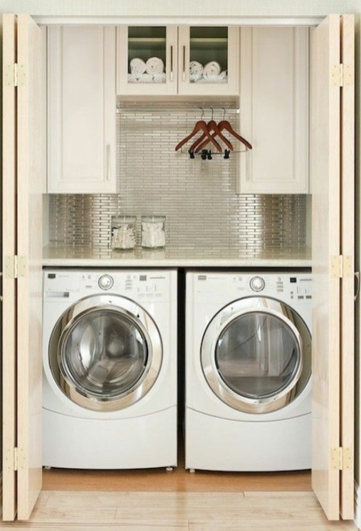 Perfect Laundry Room Decor In Your Tiny House 34