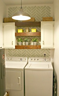 Perfect Laundry Room Decor In Your Tiny House 36