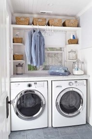 Perfect Laundry Room Decor In Your Tiny House 41