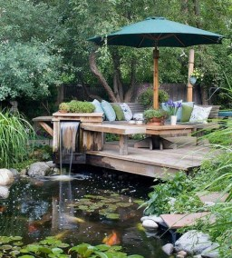 Simply Impressive Sitting Areas For Backyard Landscape 06