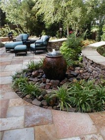 Simply Impressive Sitting Areas For Backyard Landscape 08