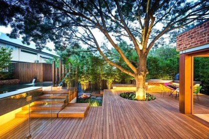 Simply Impressive Sitting Areas For Backyard Landscape 15