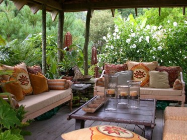 Simply Impressive Sitting Areas For Backyard Landscape 18