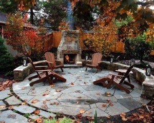 Simply Impressive Sitting Areas For Backyard Landscape 19