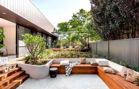 Simply Impressive Sitting Areas For Backyard Landscape 27