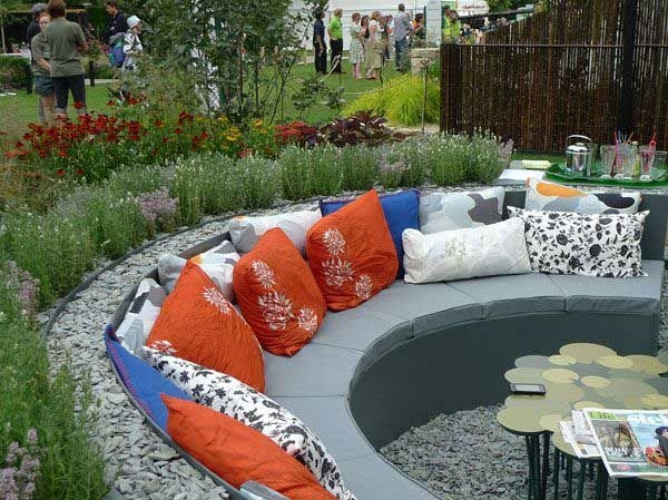 Simply Impressive Sitting Areas For Backyard Landscape 29