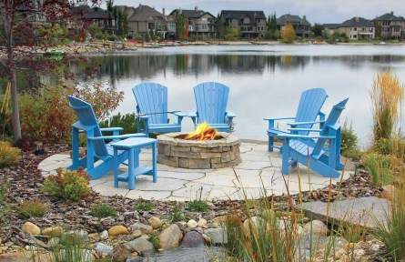 Simply Impressive Sitting Areas For Backyard Landscape 36