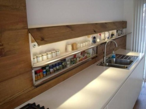 Stunning Kitchen Storage For Small Space 13