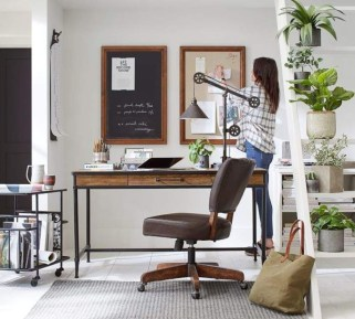 44 Modern Rustic Decorating Ideas For Your Home Office 44