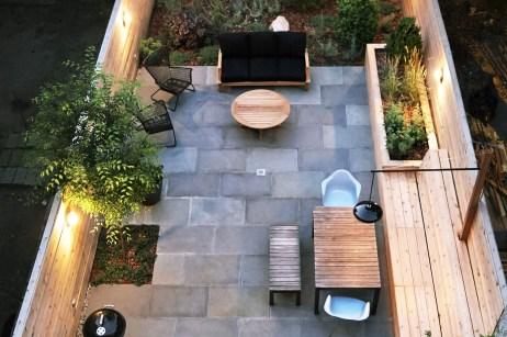 A Cozy Backyard France Terrace Ideas 15