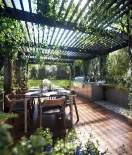 A Cozy Backyard France Terrace Ideas 16