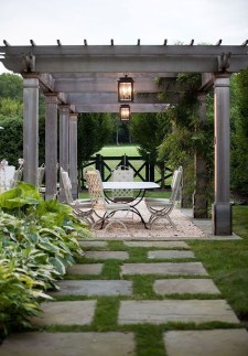 A Cozy Backyard France Terrace Ideas 19