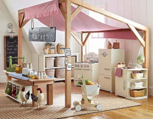 Adorable Indoor Play Areas For Your Kids 30