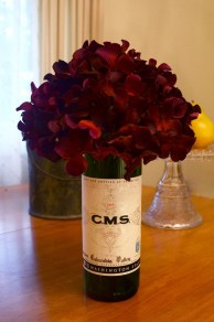 Amazing Inspiration With Bottle Christmas Vases You Can Try 18