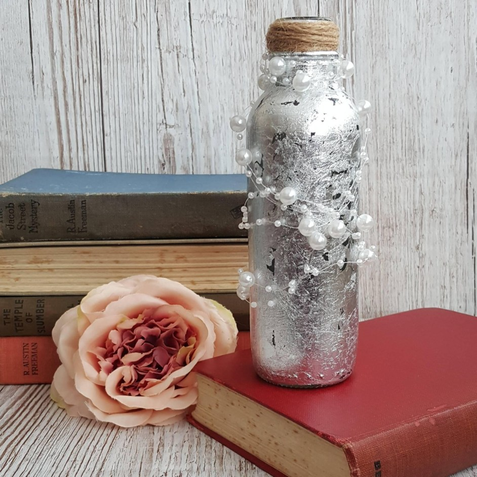 Amazing Inspiration With Bottle Christmas Vases You Can Try 38