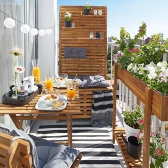 Balcony Garden Ideas For Decorate Your House 27